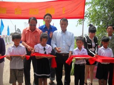 Tài trợ làm cầu đường thủy tại Trảng Bàng Tây Ninh